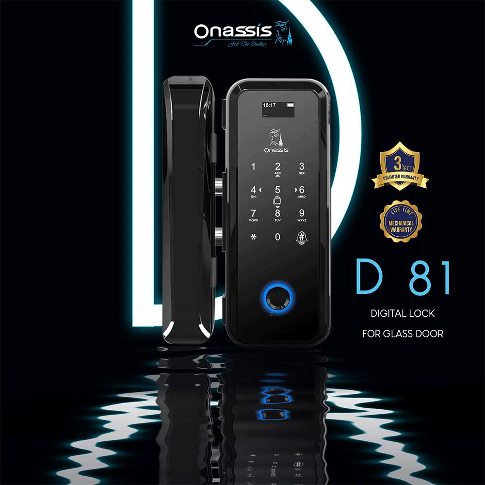 Digital lock | DG-ONS GLASS-D 81