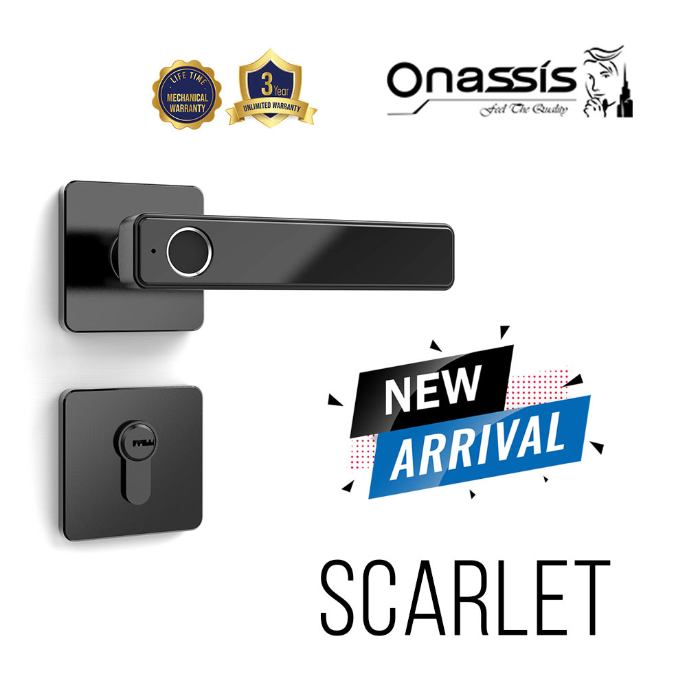 Digital Lock Onassis Scarlet